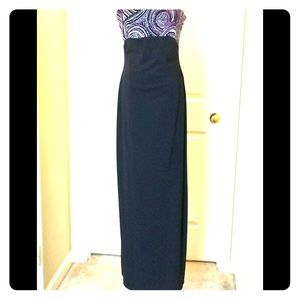 J.S. Boutique_Black Gown w/Beads_Dillard's